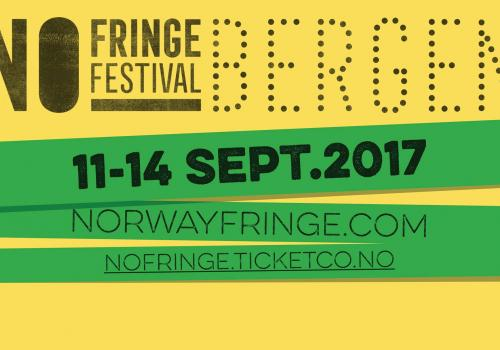 No Fringe Festival Bergen arrangeres 11.-14. september.